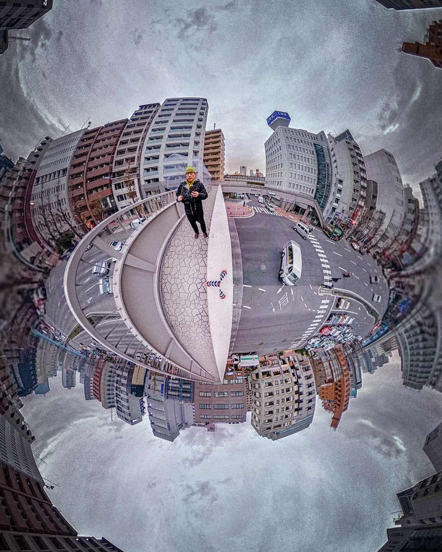 ここにはリコー・シータで撮影した写真が表示されています。